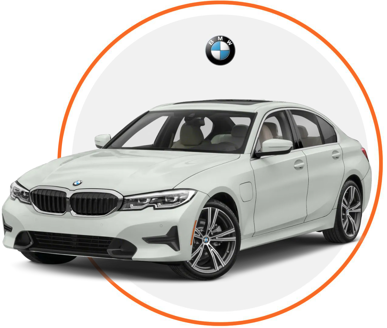 Čelné sklo BMW 3