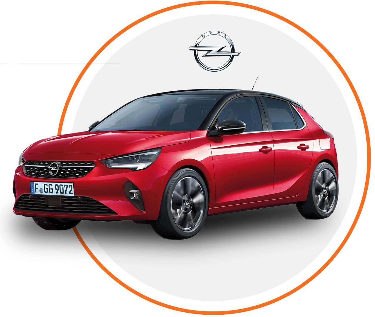 Čelné sklo Opel Corsa