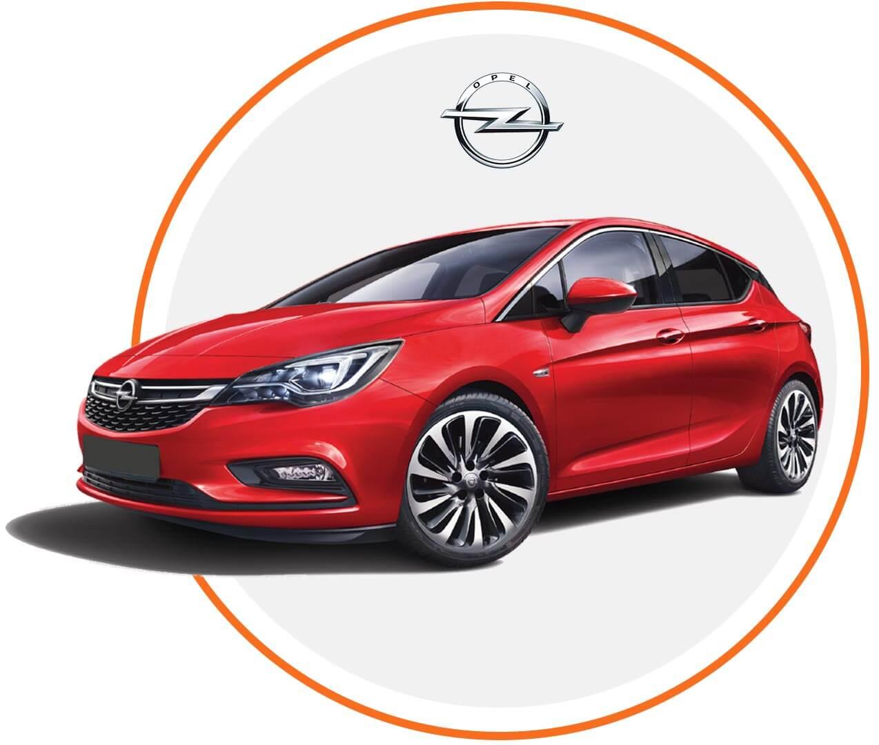 Čelné sklo Opel Astra