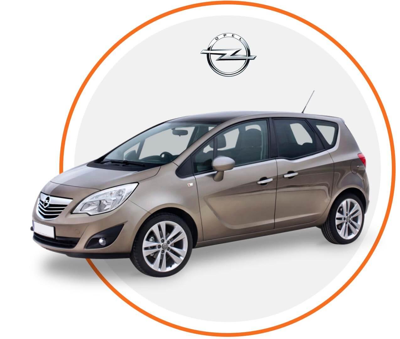 Čelné sklo Opel Meriva