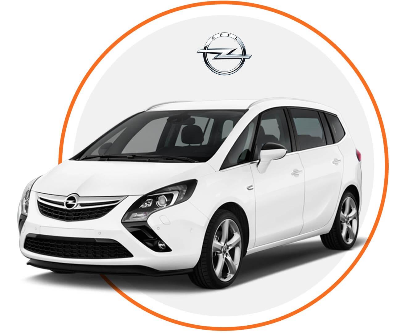 Čelné sklo Opel Zafira