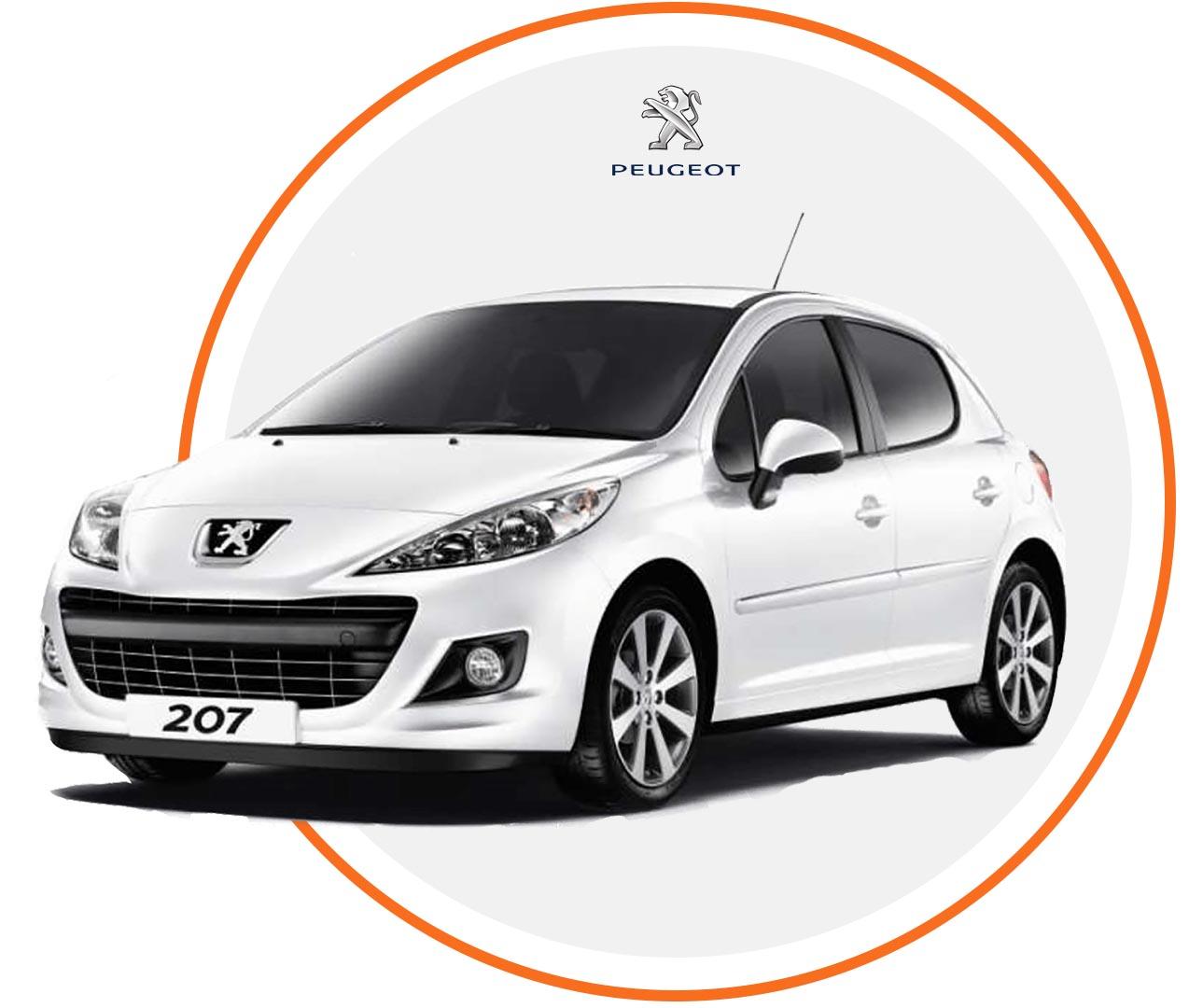 Čelné sklo Peugeot 207