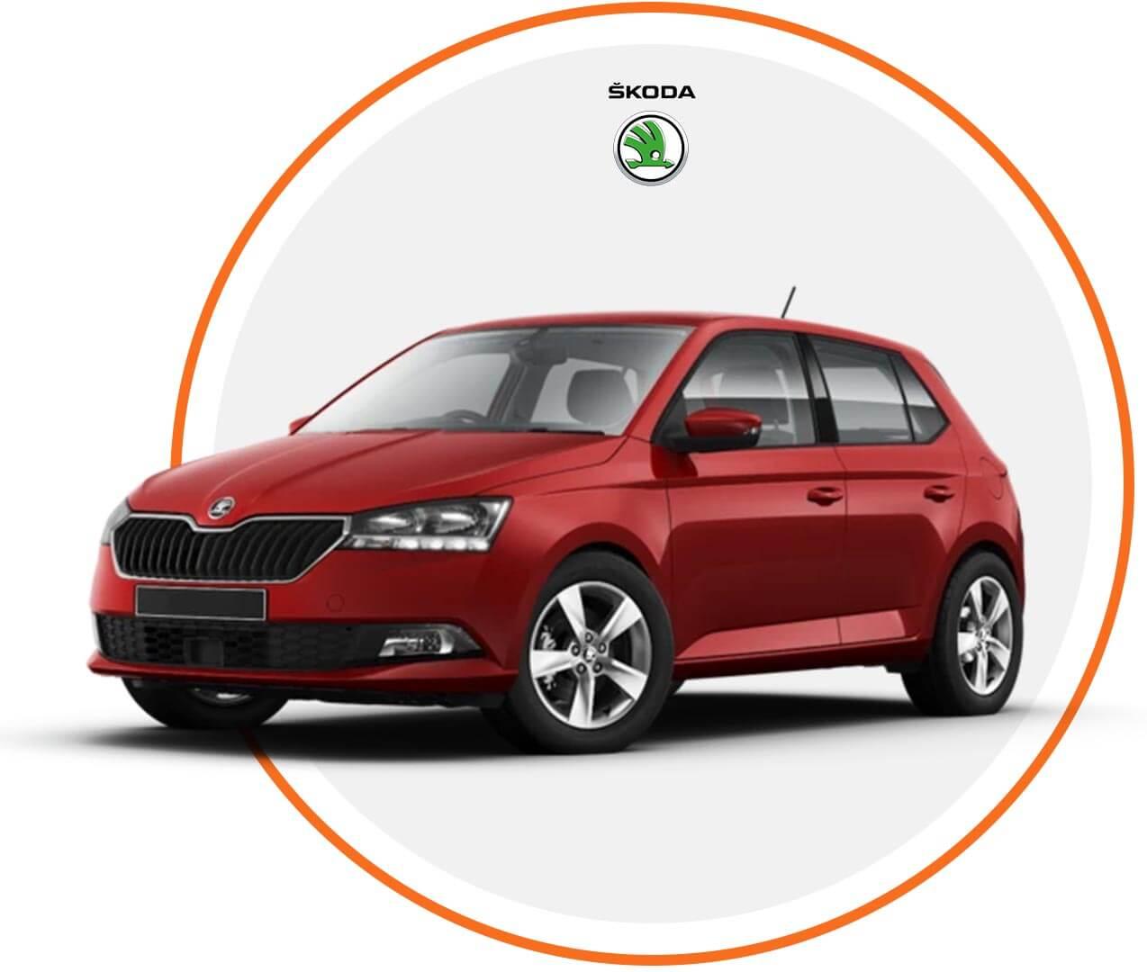 Čelné sklo Škoda Fabia