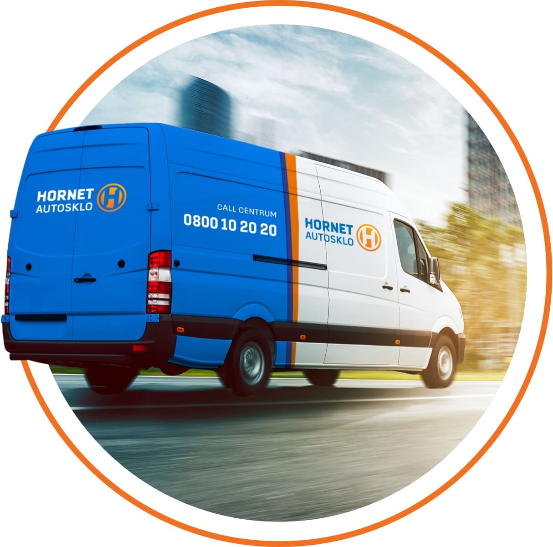 Autosklo Hornet® - Mobilný servis